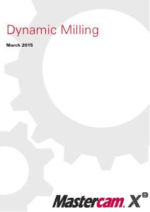 Dynamic Milling