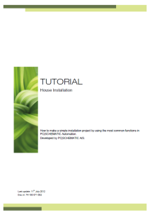 TUTORIALHouseInst