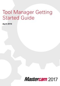 Tool Manager Getting Started Guide